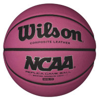 Мяч баскетбольный Wilson NCAA Replica Game Ball WTB0731XBPINK Sz.5